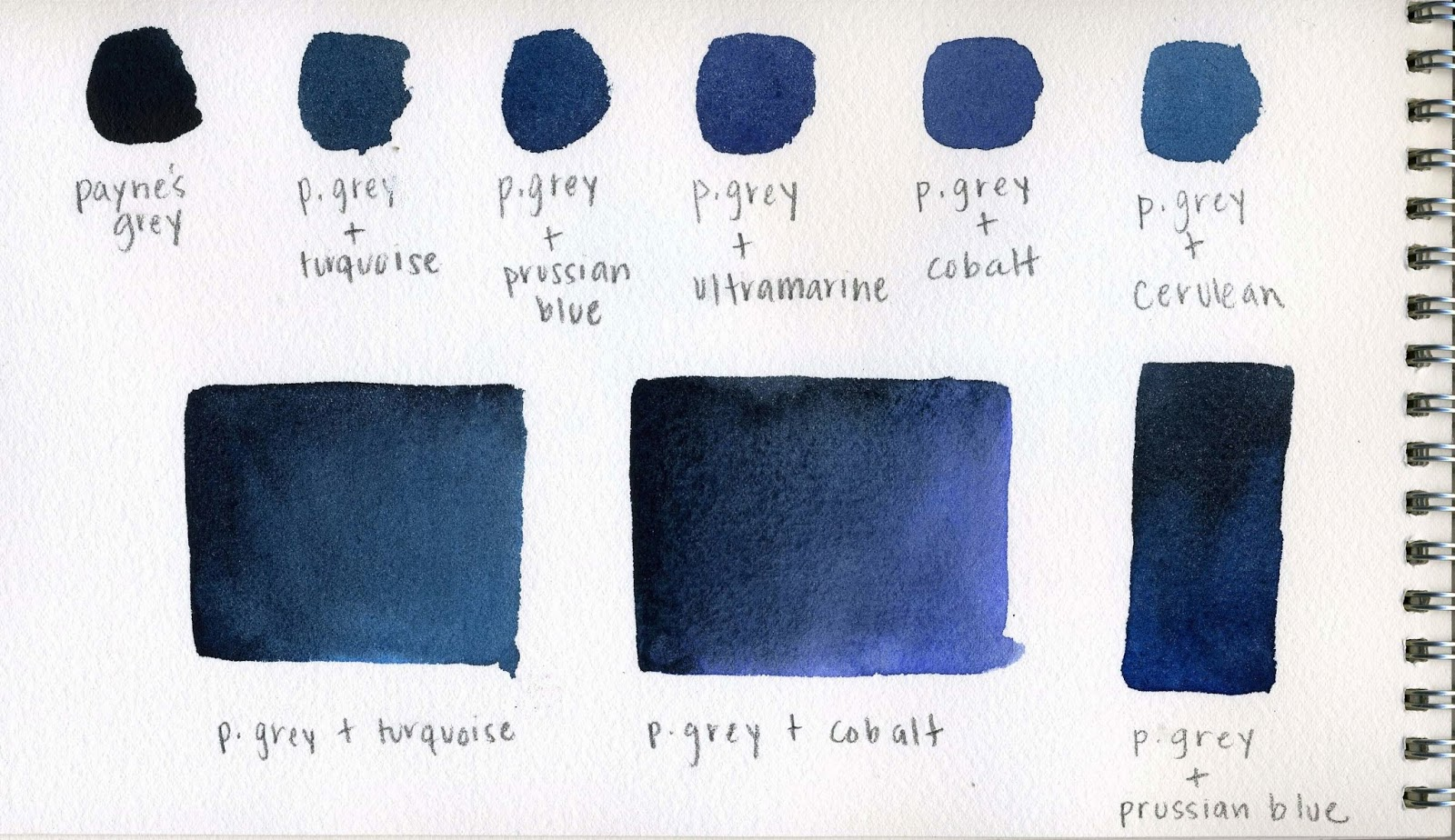 names for different shades of blue | My Web Value
