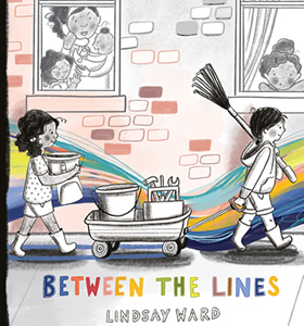 Between the Lines by author Lindsay M. Ward